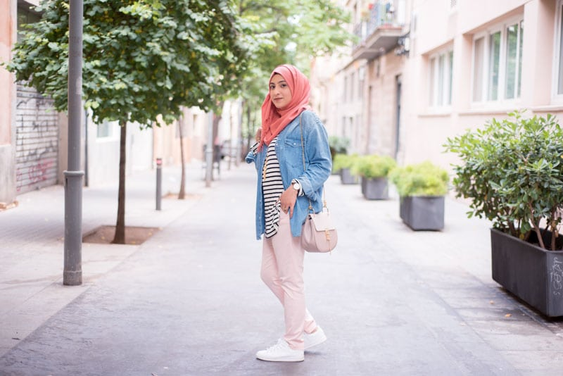 Hijab style 2018 summer outfit
