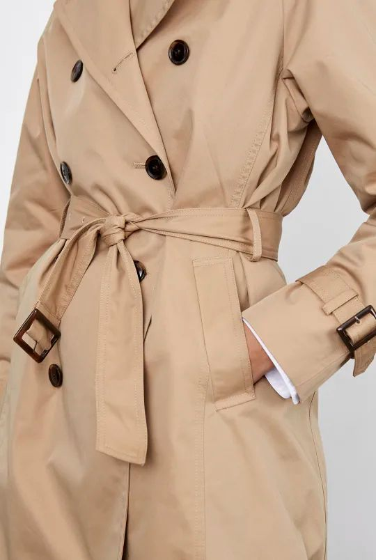Comment nouer son trench ?